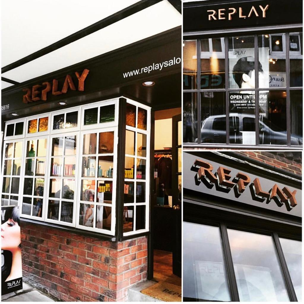 Replay hairdressers in Darlington